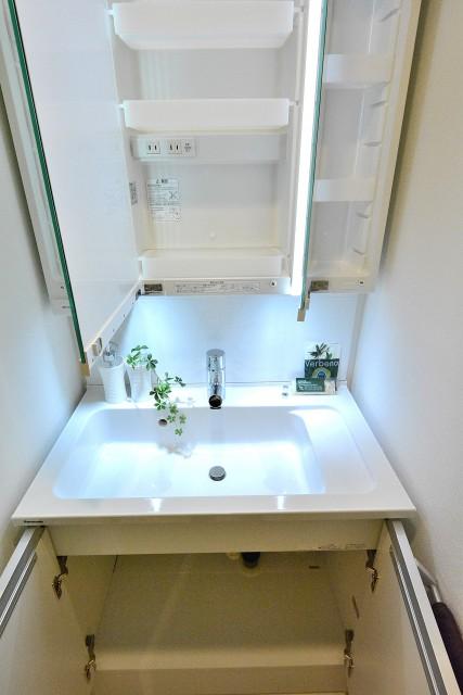 西荻窪コーポラス 洗面台