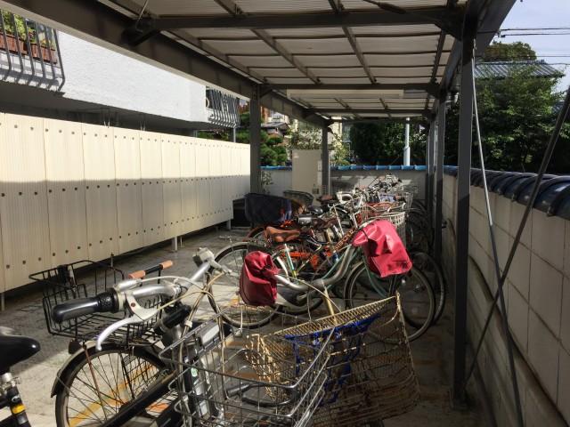 桜丘フラワーホーム 駐輪場