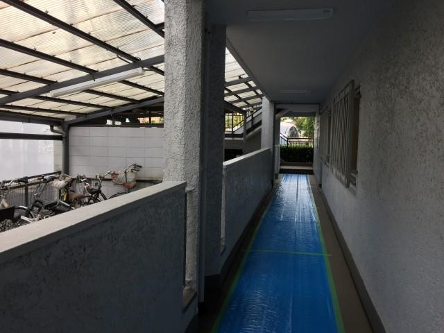 桜丘フラワーホーム 外廊下