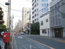 朝日シティパリオ高輪台A館 前面道路