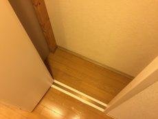 桜丘フラワーホーム 廊下収納
