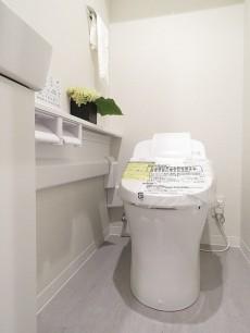 ダイアパレスシェルトワレ目黒 ウォシュレット付きトイレ
