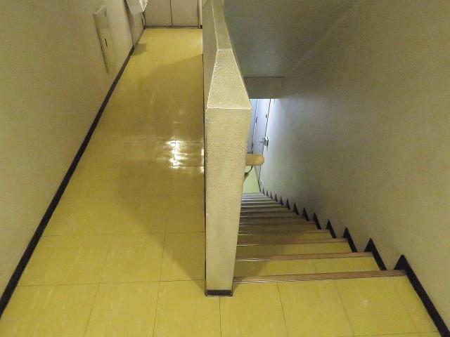 GSハイム太子堂 共用廊下