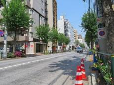 キャッスルマンション武蔵小山 前面道路