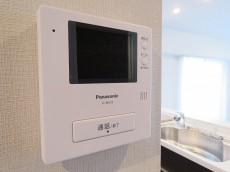グリーンキャピタル第二笹塚 TVモニター付きインターホン
