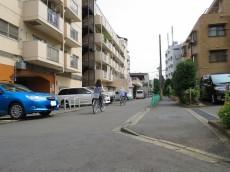 祖師谷大蔵サマリヤマンション 前面道路