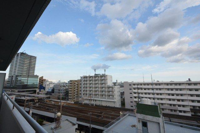 グリーンキャピタル第2笹塚 バルコニー