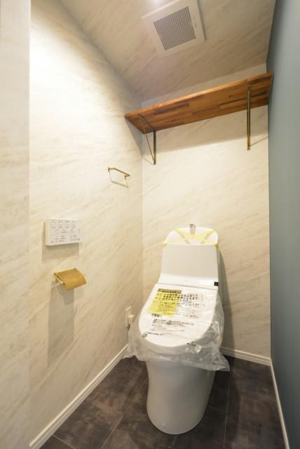 東洋代々木上原コーポ トイレ