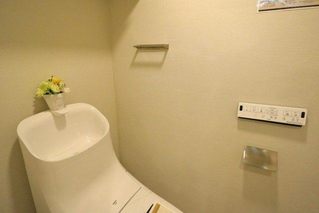 初台ハイホーム トイレ