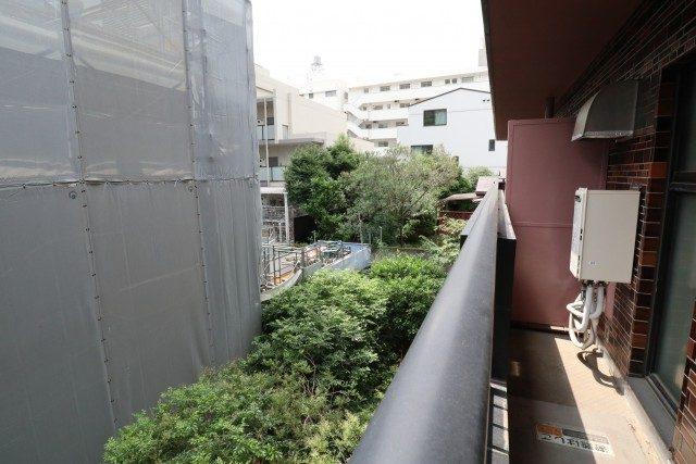 白金台桜苑マンション バルコニー