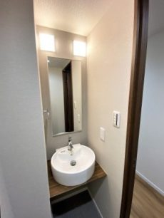 成城北フラッツ 洗面室