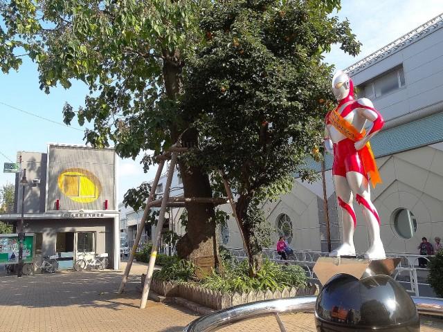 サーパス祖師谷大蔵 交番とウルトラマン