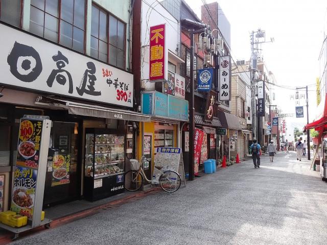 コーポ大岡山 商店街