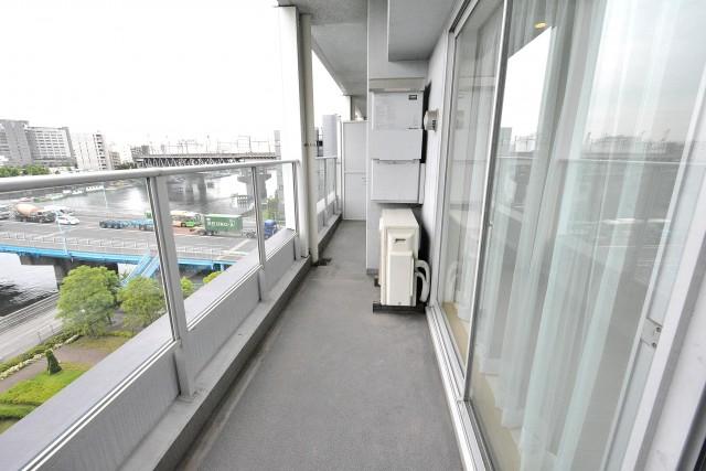 ベイクレストタワー バルコニー