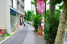 カーサ早稲田 マンション前歩道