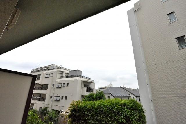 日商岩井第2方南町マンション バルコニー