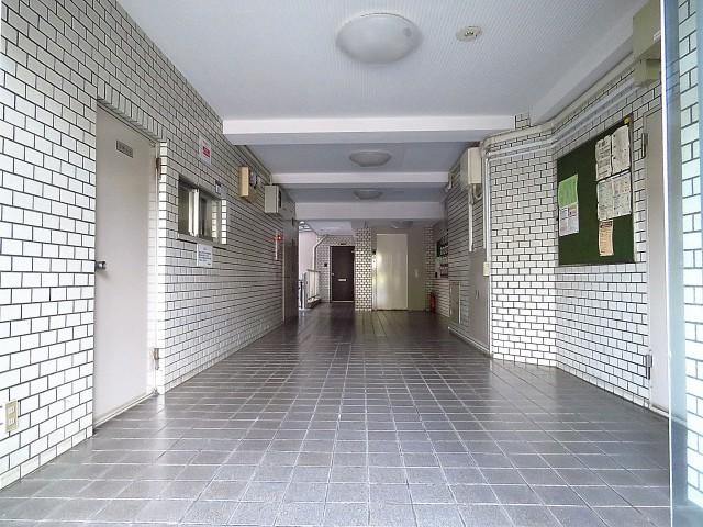 大森中央ハイム エントランスホール