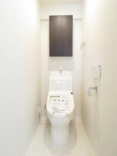 築地ハイツ ウォシュレット付きトイレ