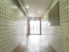 築地ハイツ エントランスホール