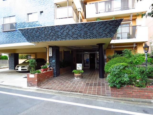 コーポ大岡山 エントランス