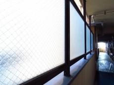 コーポ大岡山 共用廊下