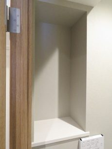 松栄戸越マンション トイレ棚