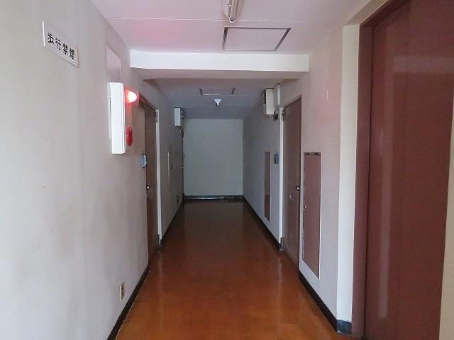 松栄戸越マンション 共用廊下