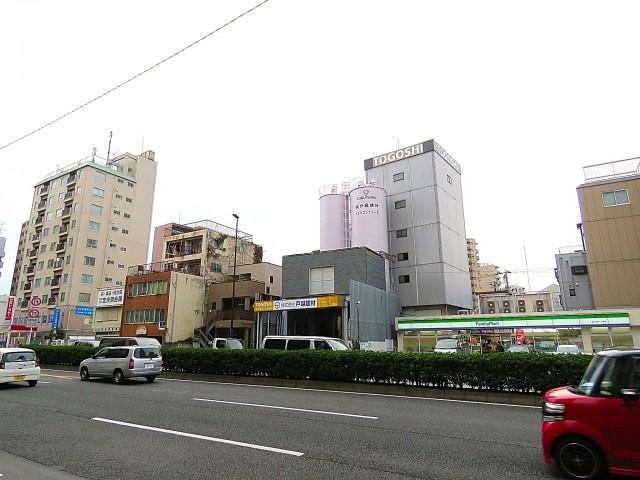 松栄戸越マンション マンション前の道路