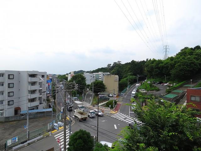 サンライン成城ハイツ 西側バルコニー眺望