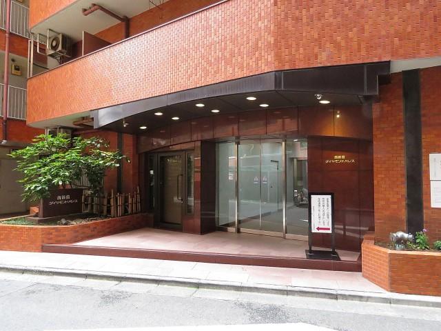 西新宿ダイヤモンドパレス エントランス
