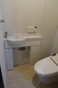 ザ・タワーズ台場イースト棟615 トイレ