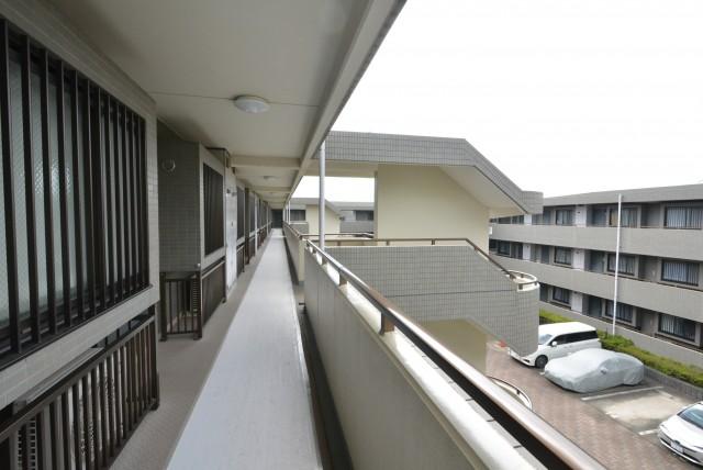 エクレールガーデン富士見ヶ丘 外廊下