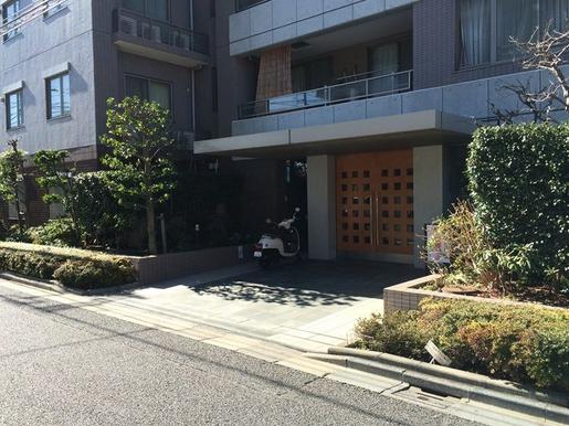 クレッセント新蒲田 エントランス