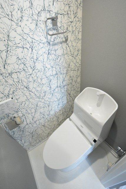 フラワーヒル目黒 トイレ