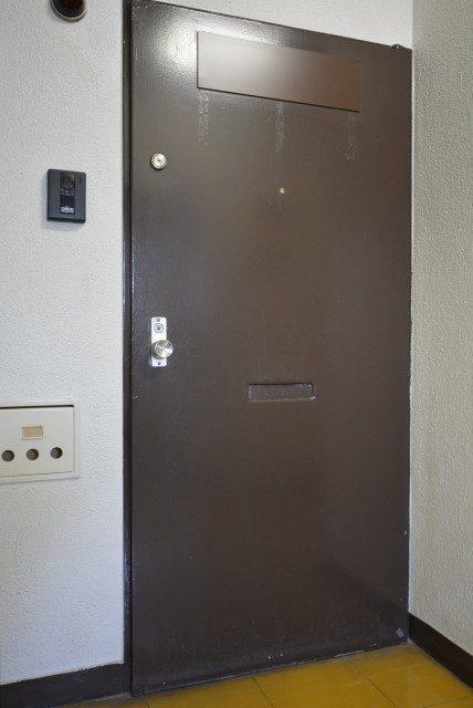フラワーヒル目黒 玄関