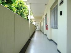 日商岩井大岡山第2マンション 共用廊下