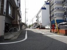 秀和大岡山レジデンス 前面道路