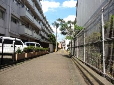 高井戸東コーポ 前面道路