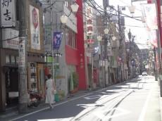祐天寺第二コーポ 商店街