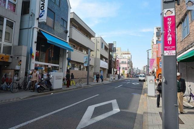 オープンレジデンシア桜新町 サザエさん商店街