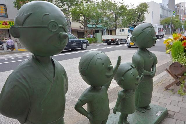オープンレジデンシア桜新町 サザエさん一家