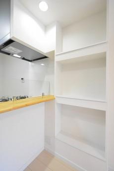 フジマンションウイスタリア LDKの棚