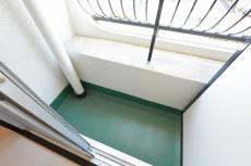フジマンションウイスタリア 5.5帖洋室のバルコニー