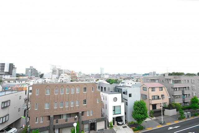 エステージ上野毛 7.1帖洋室眺望