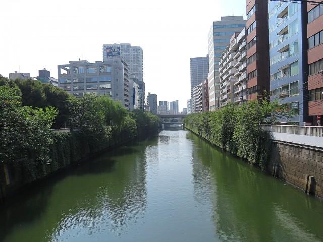 五反田サニーフラット 目黒川