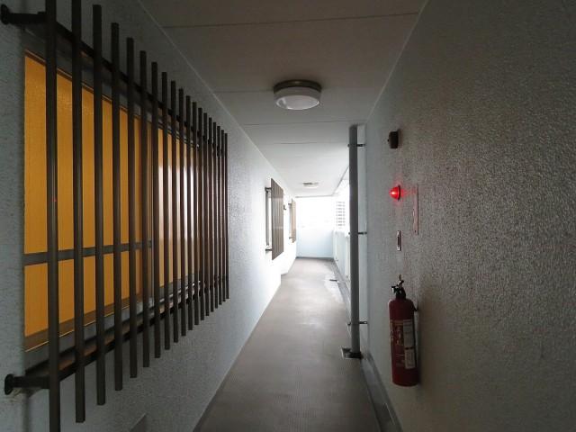 学芸大ダイヤモンドマンション 共用廊下