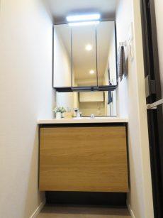 学芸大ダイヤモンドマンション 洗面化粧台