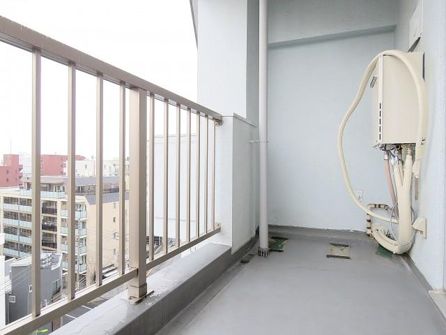 学芸大ダイヤモンドマンション 洋室側バルコニー