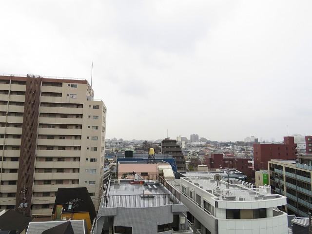 学芸大ダイヤモンドマンション 洋室側眺望