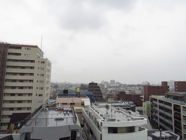 学芸大ダイヤモンドマンション LDK側眺望